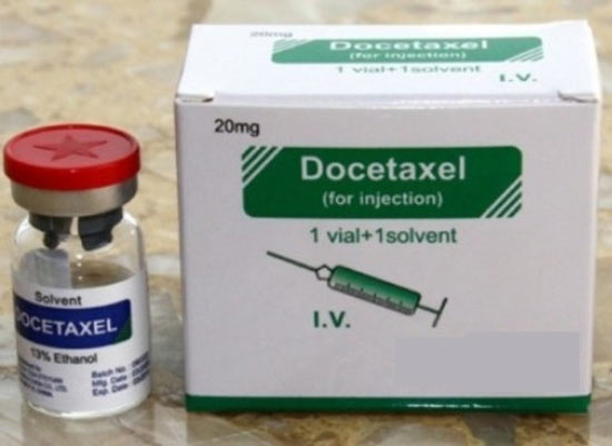 Docetaxel chứa chất ethanol gây ngộ độc