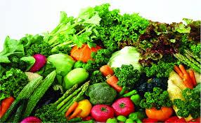 Ăn kèm rau xanh khi ăn đồ nướng
