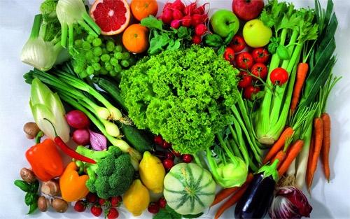 Bệnh ung thư dạ dày nên ăn nhiều rau củ quả có màu sắc sặc sỡ