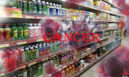 chứa chất gây ung thư