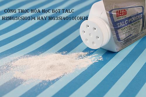Phấn rôm johnson chứa chất gây ung thư do có thành phần bột talc.