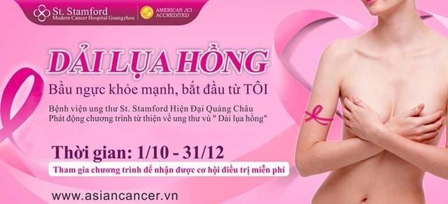 chữa ung thư tuyến vú