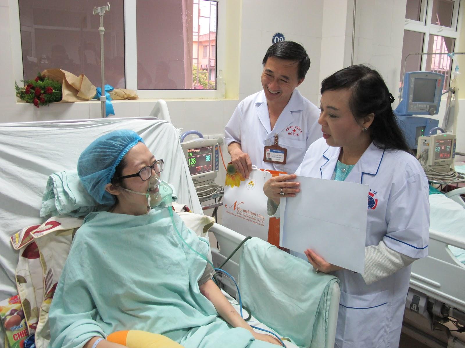 điều trị ung thư tại bệnh viện K