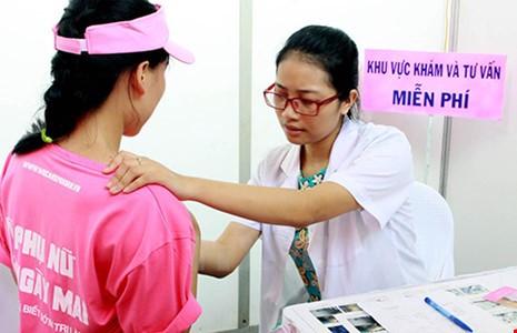 điều trị ung thư vú tại việt nam