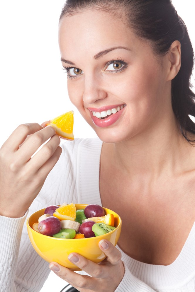 giảm ung thư vú bằng trái cây
