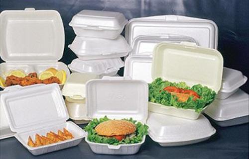 Hộp xốp đựng thức ăn gây ung thư khi sử dụng nhiều lần.