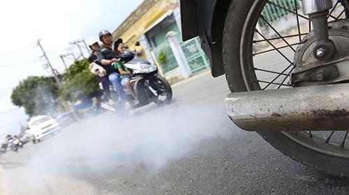 khí thải xe máy gây ung thư