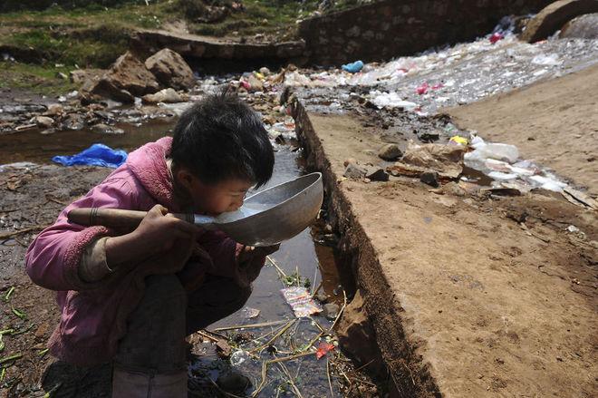 làng ung thư có nguồn nước ô nhiễm