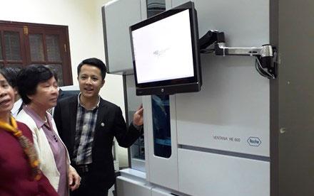 Máy xét nghiệm tự động ung thư