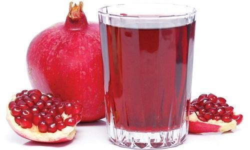 Nước ép lựu - Thực phẩm tốt phòng ngừa ung thư phổi