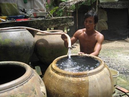 Nước giếng khoan có chất gây ung thư