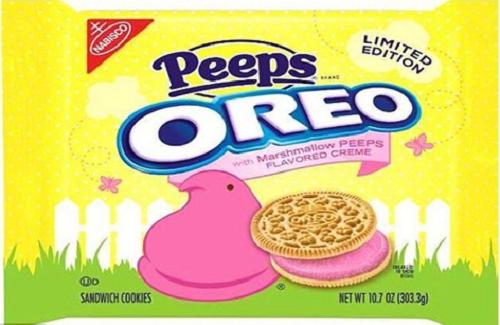 Bánh Peeps Oreo có thể gây bệnh ung thư vì chứa phẩm màu.
