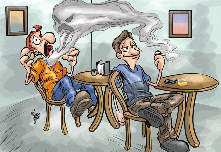 Tránh xa khói thuốc là phương pháp phòng tránh ung thư phổi tại nhà
