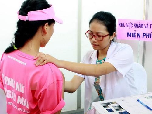 điều trị u vú là việc làm đang được quan tâm