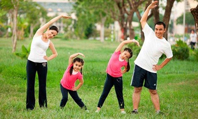Nâng cao sức khỏe bằng tập thể dục để ngăn ngừa ung thư bàng quang