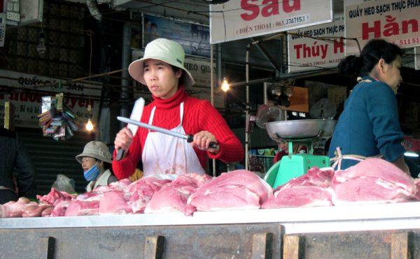 thịt lợn tiêm thuốc an thần gây ung thư