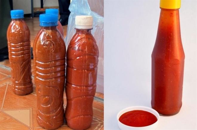 tương ớt có chứa chất gây ung thư