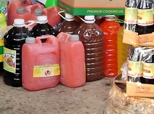 Tương ớt chứa chất gây ung thư phân phối tràn lan trên thị trường.