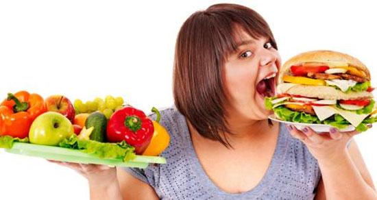 Đảm bảo chế độ ăn uống khoa học để không bị béo phì gây nên ung thư