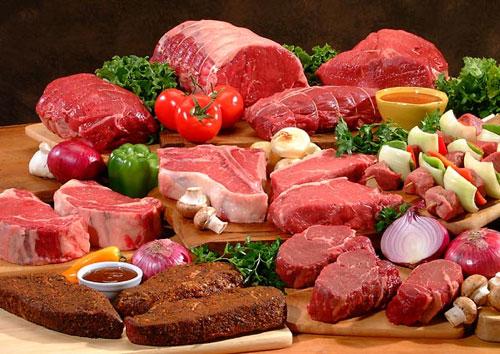 Bệnh nhân ung thư trực tràng nên hạn chế ăn thức ăn các loại thịt đỏ.