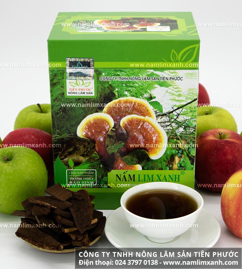 Bảng giá bán nấm lim xanh tự nhiên của Công ty Nông lâm sản Tiên Phước
