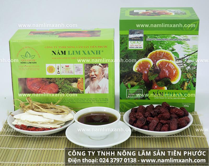 Cách nhận biết nấm lim xanh tự nhiên và phân biệt cây nấm lim rừng