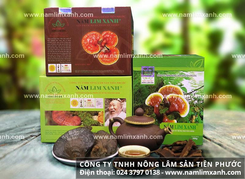Địa chỉ mua nấm lim xanh tốt nhất ở TPHCM và nơi mua nấm lim tại TPHCM