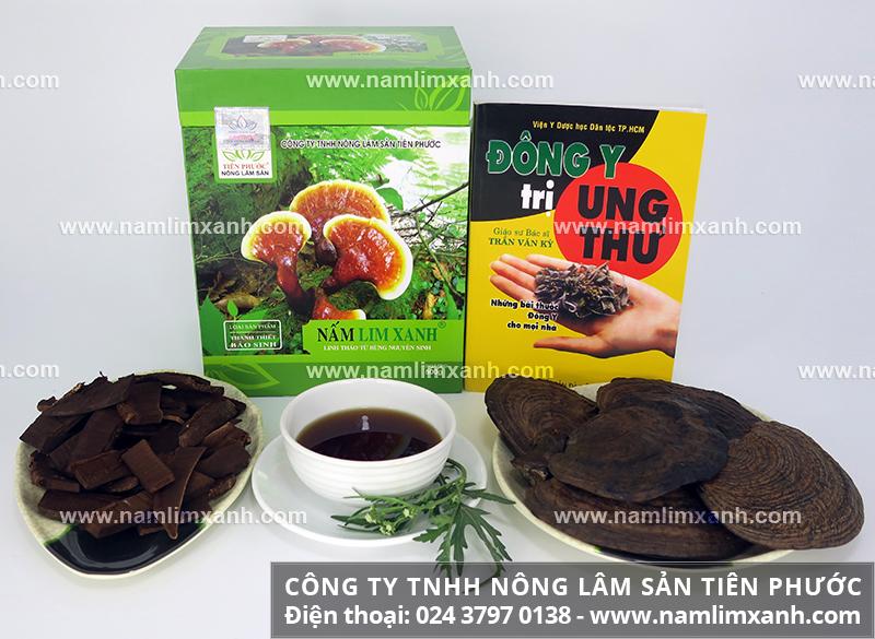 Lưu ý khi uống nấm lim xanh và chú ý lúc uống nấm lim rừng tự nhiên