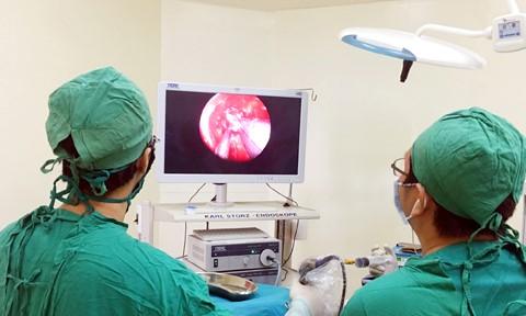 Ca phẫu thuật thành công u não tại BVĐK Tuyên Quang