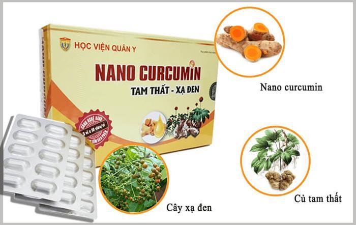 Nano curcumin tam thất xạ đen tác dụng vô hiệu quá các tế bào ung thư