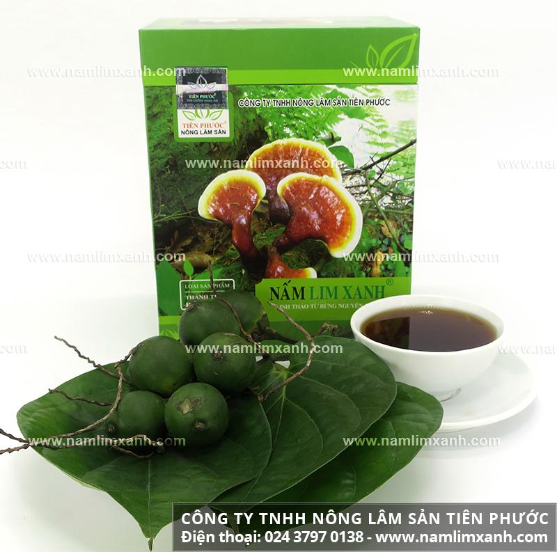 Cách dùng nấm lim xanh chữa tiểu đường cách hãm trà nấm cây lim xanh