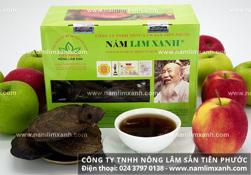 Cách uống nấm lim xanh chữa bệnh tốt nhất và liều lượng uống nấm lim