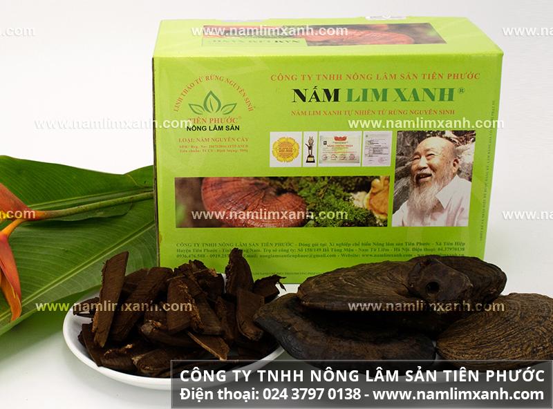 Hình ảnh nấm lim xanh thật của Công ty TNHH Nông lâm sản Tiên Phước