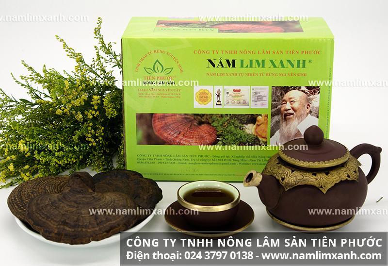 Những lưu ý khi sử dụng nấm lim xanh và cách hãm trà nấm gỗ lim rừng