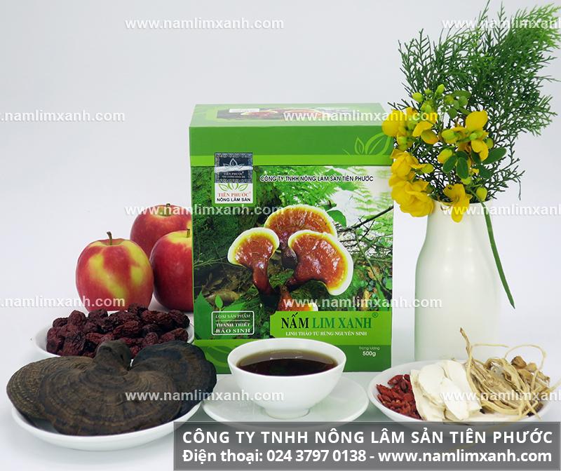 Sự thật về công dụng của nấm lim xanh Quảng Nam và mua nấm lim xanh