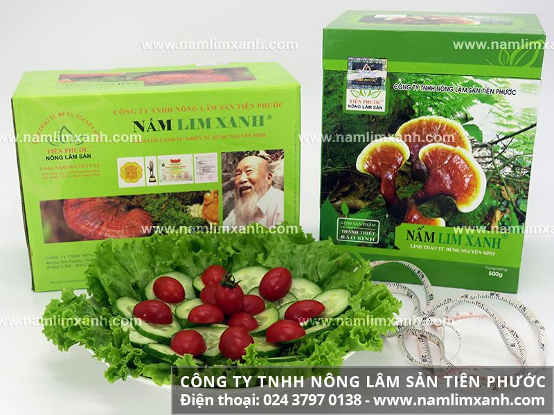 Tác dụng của nấm lim rừng tự nhiên và dùng nấm lim rừng trị bệnh gout