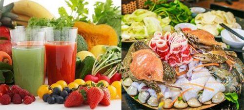Những lưu ý về thực phẩm cho người ung thư mũi