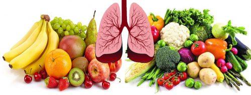 Cách phòng tránh ung thư phổi bằng chế độ dinh dưỡng
