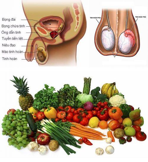 Chế độ ăn uống cho người bị ung thư tinh hoàn