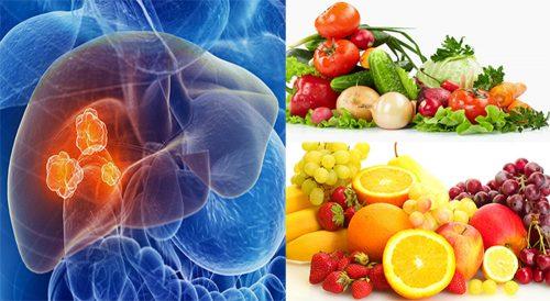 Thực đơn phòng tránh ung thư gan