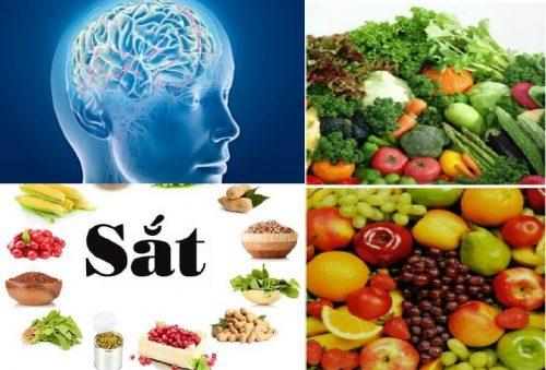 Thực phẩm cho người ung thư não