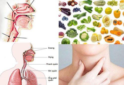 Ung thư khí quản nên ăn gì?